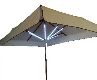 Illuminazione per ombrellone illuminazione per gazebi